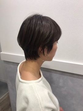 秋冬向け 小顔ガールズショート&髪質改善