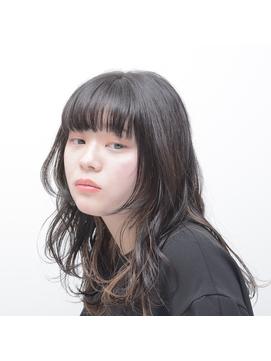 【Dulce】ミディアムレイヤー×黒髪