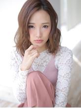 伸ばしかけに☆ゆるふわミディ.28
