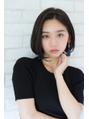 【東 純平】クール 小顔 ワンレンボブ