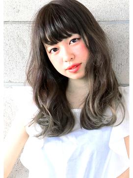 『 アッシュグラデ 』×『 毛束感 』 外国人風 小顔 long ☆