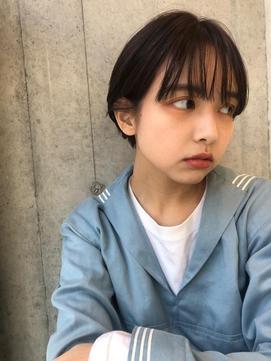 AI HONDA /大人ショート ロータスチョコレートカラー