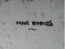 スイートイナフ オン ヘアー(Sweetenough on hair)