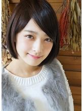 [ショートヘア] 前髪長め ノーブルショートで小顔ヘア★★★ 清純.26