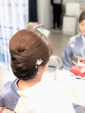 お着物スタイル/和髪・着物ヘア・和装ヘア・シニヨン