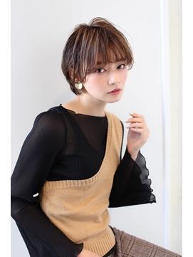 【ケーツー池袋】小顔カット×大人女性に好評 小顔ショート
