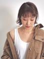 【 mist 】ウェットな切りっぱなしボブ(金沢文庫/金沢八景)