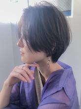 森 小顔ダブルバング×秋ブランジュ×グラデーションカラー3.47