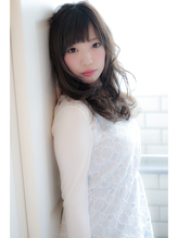 【EIGHT plat渋谷】誰でも大人可愛いセミロング 社会人.49