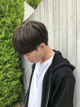 韓流黒髪マッシュ!