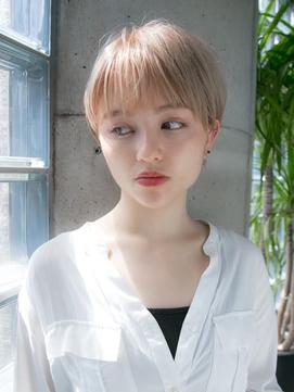 ハイトーンボーイッシュショート☆relian表参道