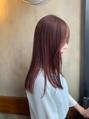 ピンクブラウン☆1