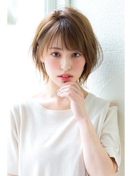 【Un ami  表参道】 松井幸裕 オトナ・ナチュラルショートボブ