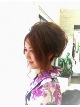 こさ盛り 盛り髪.58