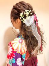卒業式 袴 成人式 振袖 ルーズ ヘアアレンジ 卒業式.57
