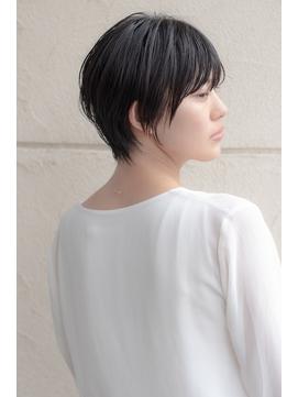 【Soar】マッシュウルフ×黒髪×エッジショート