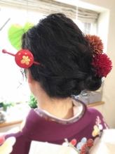 【felicita桜塚店】和装ダウンセット かんざし.45