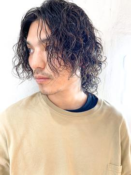 [HELM渋谷]グランジパーマ