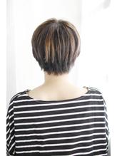 美髪黒髪着物イルミナカラーヘルシーレイヤーデジタルパーマ/120.5