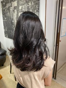 デジパでボリュームアップセットが簡単な艶髪韓国女神スタイル!