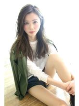 アッシュベージュ☆かきあげバング☆色っぽロング .29