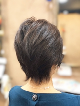 【高田馬場】電子トリートメントオーガニックカラー白髪染ウルフ.35