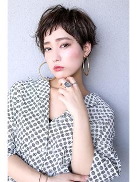 【Blanc/天王寺】エアリーショート/斜めバング/アシメショート