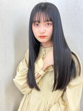 【髪質改善】艶髪ロング・サラ艶スタイル