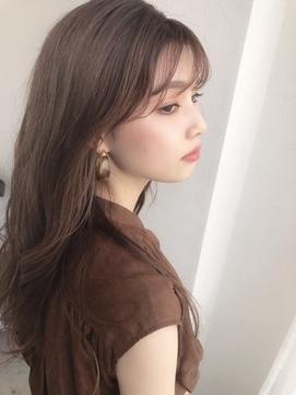 【myonsil】韓国ヘア☆オルチャンシースルーバング