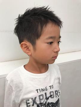 キッズヘア 男の子 二子玉川 テラバイアフロート松子