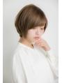 【Euphoria銀座本店】ツヤと動きの小顔ナチュラルショートボブ☆