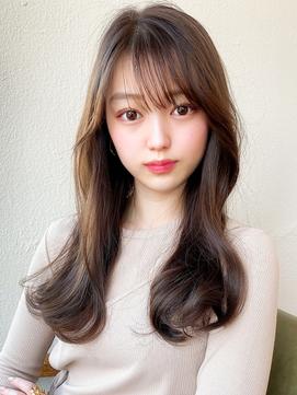 eri/ヨシンモリ/シースルーバング/韓国/オルチャンカラー/ロング