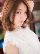 *+COVER HAIR+*…媚びない☆クールなセミディa パーティ.48