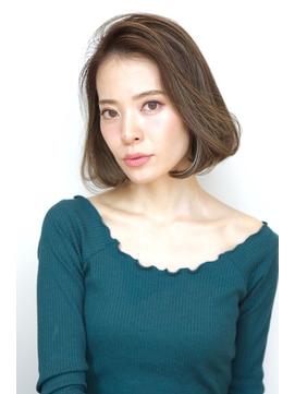 Soleil松田クールショート着物ボブルフピンクベージュ