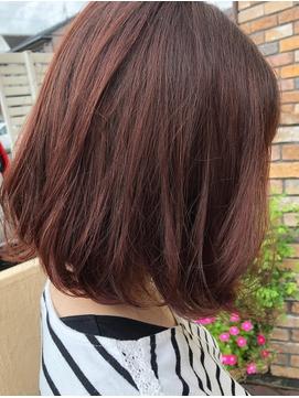 秋カラー◎ピンクブラウン