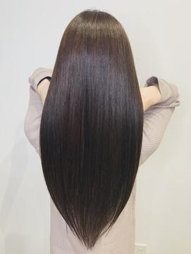 【髪質改善】酸性ストレート×髪質改善トリートメント