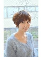 大人女子☆小顔ショートスタイル ボディパーマ.44