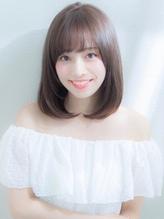 XELHA【谷 賢二】大人女子のミディアムストレート 大人女子.44
