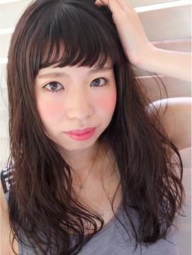 【FORS】西田ゆか 重たく見えない☆濡れ髪ウエーブ