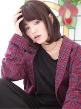 【PATIONN武内秋立】内巻きワンカールボブ 春色.28