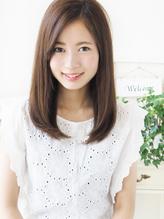 【ヘアジュレドゥ 古居 】 Natural サラ艶ストレートな大人女子 梅雨.36
