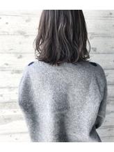 【グレージュ】おしゃれ黒髪 シルバーアッシュ 40代.39
