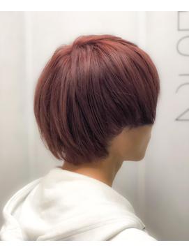 【EMIRAI/門元】 ハイブリーチ×ピンクラベージュ