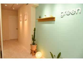 ヘッドスパサロングリーン(green)(兵庫県神戸市中央区/美容室)