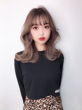 オルチャン韓国風ヘア