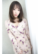 【FRAME  天王寺あべの】大人可愛い☆王道ミディアムレイヤー.18