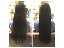 ricoa髪質改善カットカラートリートメントで自分史上最高の髪へ