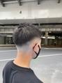 フェードカット/かき上げ/サイドパート<理容室>[メンズ/上野]