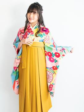 卒業式の袴スタイルと編み込みハースアップヘアアレンジ♪