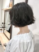 【Marlイメチェンスタイル】切りっぱなし無造作ボブ♪ .40